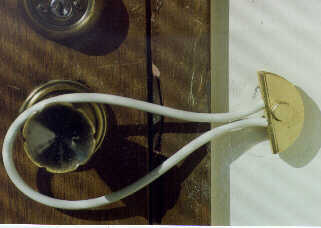 door safety cable