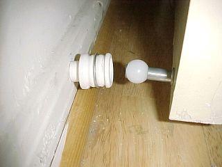 door holder or stop